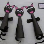 cone shaped cat craft idea