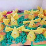 cone shaped chick craft idea