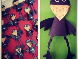 cone-shaped-crow-craft-idea