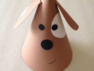 cone-shaped-dog-craft-idea