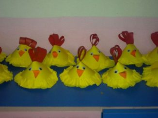 cone-shaped-hen-craft-idea