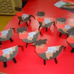 cow craft idea for toddlers