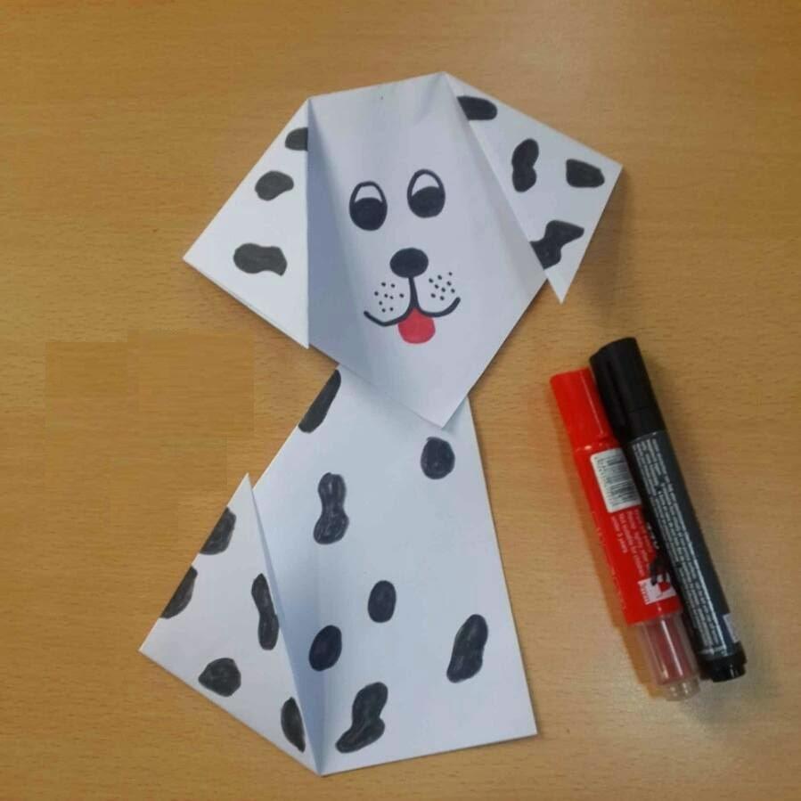 dalmatian dog craft ideas