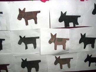 donkey craft idea