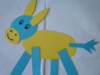 donkey-craft-idea-for-kid