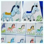 donkey craft idea for kids
