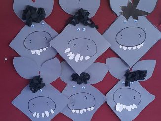 donkey craft ideas