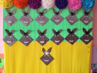 donkey craft ideas for kids