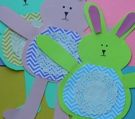 easter bunny craft idea
