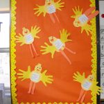 easter-chick-bulletin-board-idea