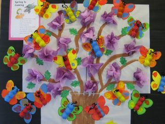 egg-carton-spring-bulletin-board-idea
