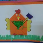 envelope chicken craft