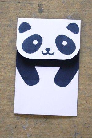 envelope-panda-craft-idea