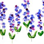 fingerprint-flower-craft-idea