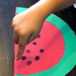 fingerprint-watermelon-craft-idea