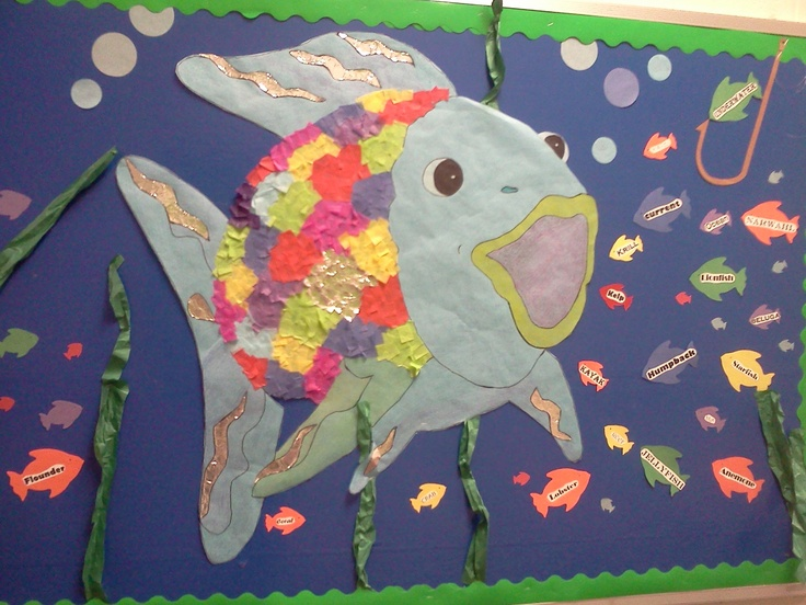 fish bulletin board idea