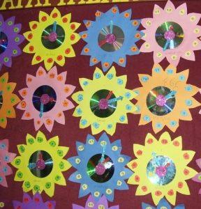 flower-clock-craft