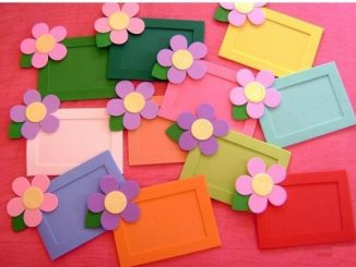 flower-frame-craft-idea