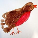 footprint-bird-craft-idea