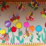 free-spring-bulletin-board-idea