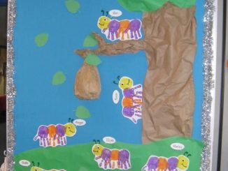 handprint-caterpillar-bulletin-board-idea