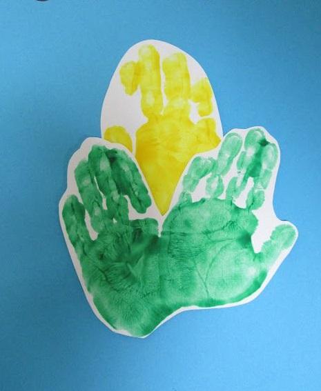 handprint-corn-craft-idea
