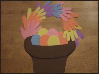 handprint-easter-basket-craft-idea