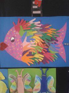 handprint-fish-bulletin-board-idea