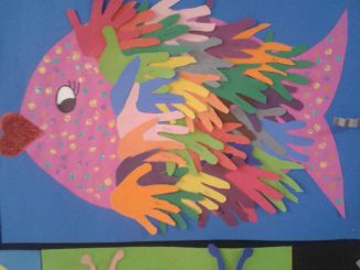 handprint-fish-bulletin-board-idea
