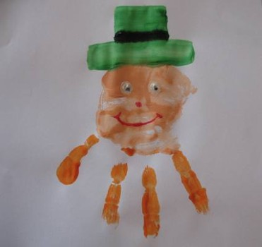handprint-leprechaun-craft