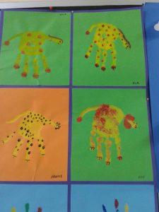handprint-lion-craft-idea