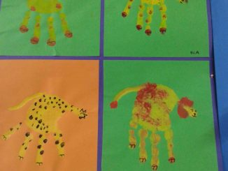 handprint-lion-craft-idea