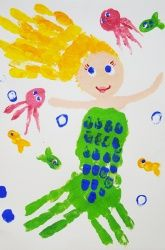 handprint-mermaid-craft-idea