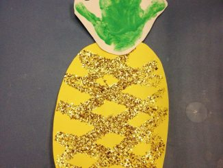 handprint-pineapple-craft-idea
