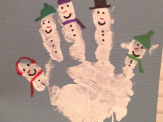 handprint-snowman-craft-idea