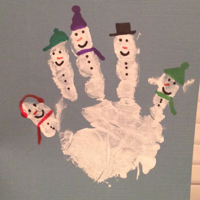 handprint-snowman-craft-idea
