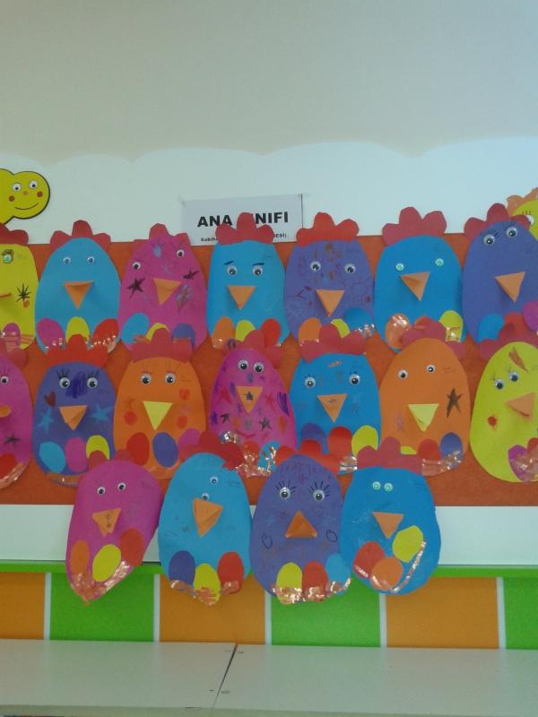 hen craft idea for kids