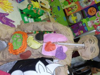 human body craft idea for preschoolers