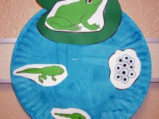 life of cycle frog craft idea