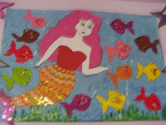 mermaid-bulletin-board-idea