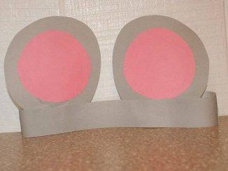 mouse headband craft