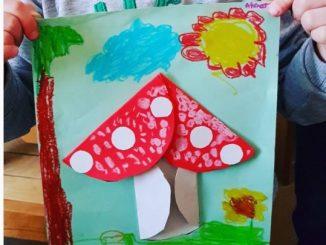 mushroom craft idea