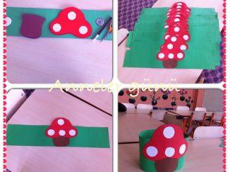 mushroom headband craft