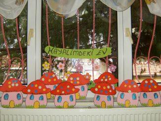 mushroom-house-craft-idea