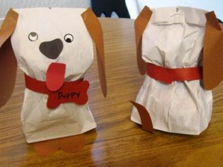 paper-bag-dog-craft-idea