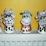 paper cup cow craft idea (1)