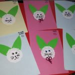 paper doilies bunny craft