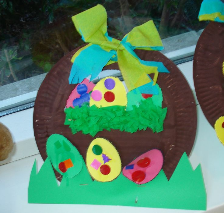 paper-plate-easter-egg-basket-craft-idea