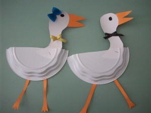 paper-plate-stork-craft-idea