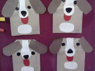 paper_bag_dog_craft_idea